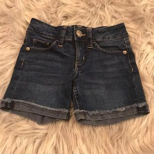 Justice slim jean shorts